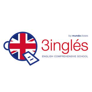 logotipo para academia de inglés